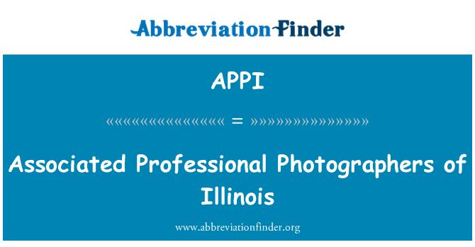 APPI: Fotógrafos profesionales asociados de Illinois