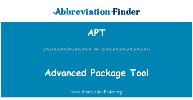 APT: Advanced Package Tool