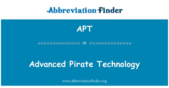 APT: Advanced Pirate Technology