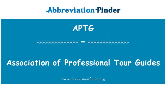 APTG: Assotsiatsiooni kutse reisijuhtide