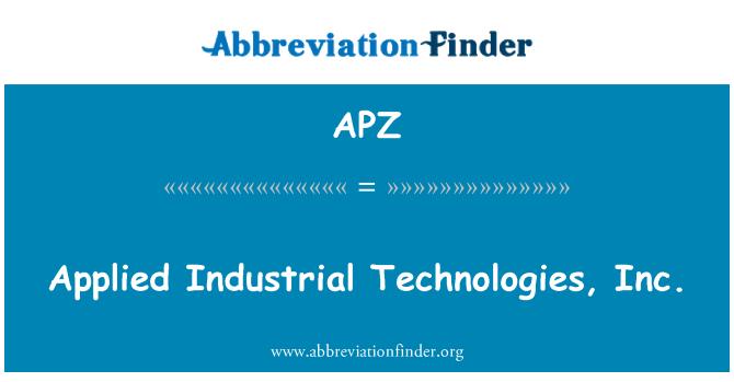 APZ: Applied Industrial Technologies, Inc.