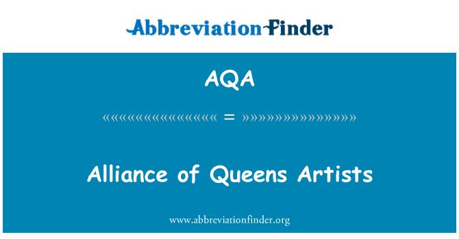 AQA: Alliance of Queens Artists