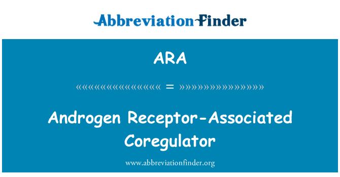 ARA: Androgen Receptor-Associated Coregulator