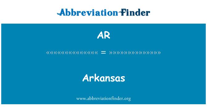 AR: Arkansas