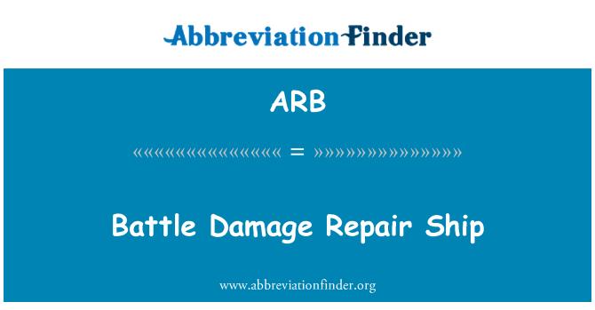 ARB: Battle Damage Repair Ship