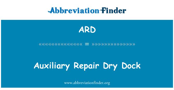 ARD: Auxiliary Repair Dry Dock