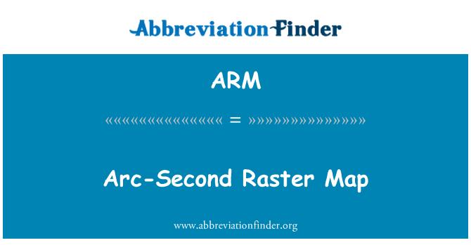 ARM: Arc-Second Raster Map
