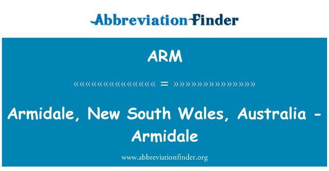 ARM: Armidale, New South Wales, Australia - Armidale