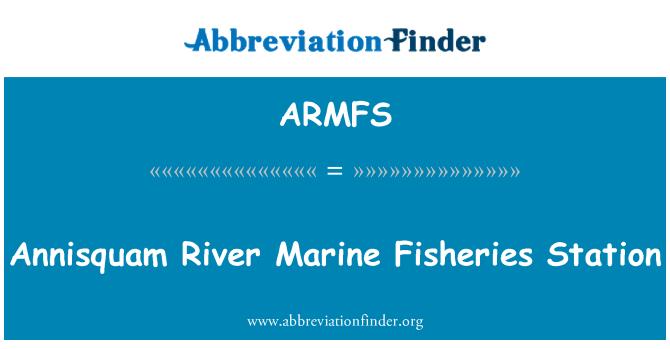 ARMFS: Annisquam River Marine Fisheries Station