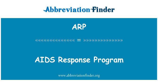 ARP: AIDS Response Program