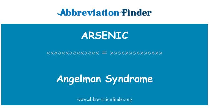 ARSENIC: 安格尔曼综合征