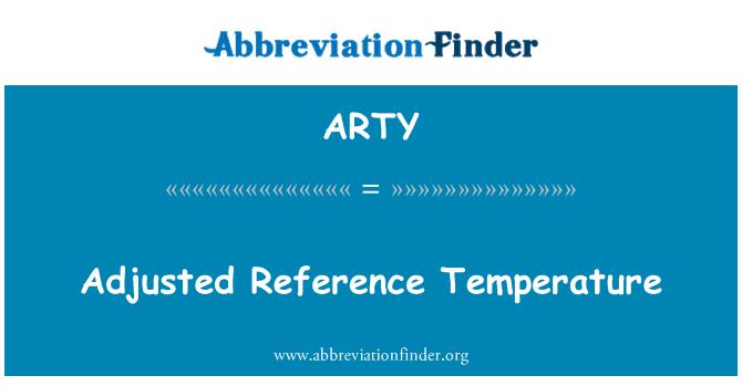ARTY: Rujukan terlaras suhu