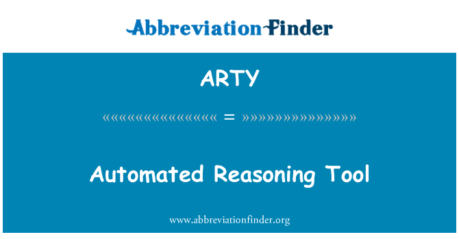 ARTY: 自动推理工具