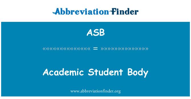 ASB: Academic Student Body
