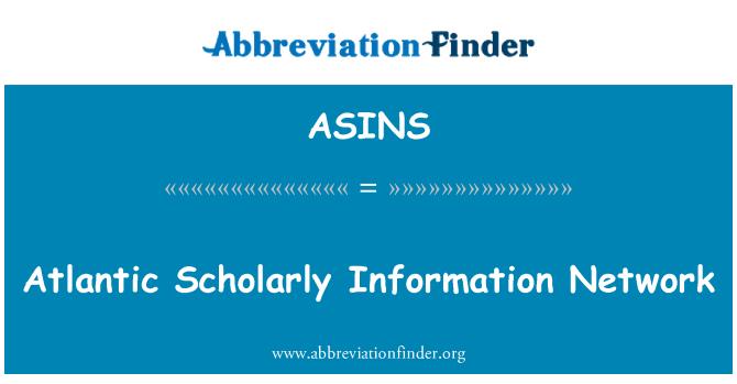 ASINS: Red de información académica Atlántico