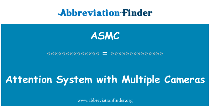 ASMC: Attention System with Multiple Cameras