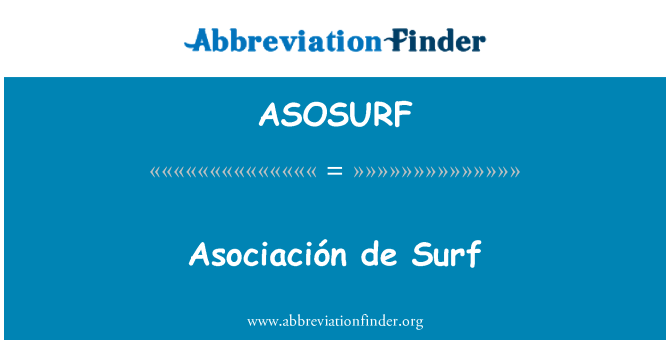 ASOSURF: Asociación de Surf