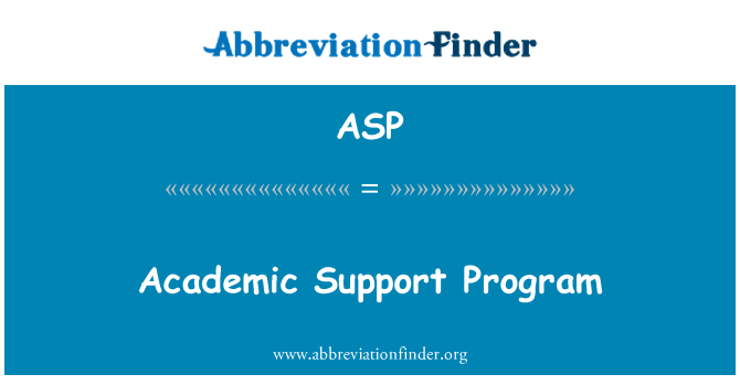 ASP: Akadeemiline toetamise programm