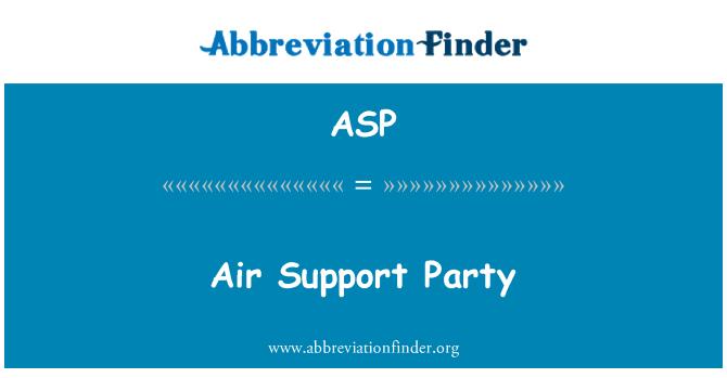ASP: Õhu toe poole