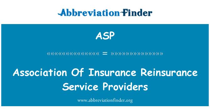 ASP: Kindlustuse, edasikindlustuse teenuseosutajate Assotsiatsiooni