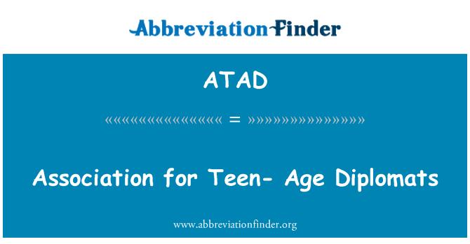 ATAD: نوعمر - عمر سفارت کاروں کے لیے ایسوسی ایشن