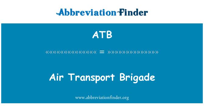 ATB: Air Transport Brigade