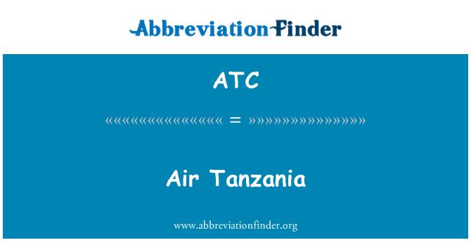 ATC: Air Tanzania
