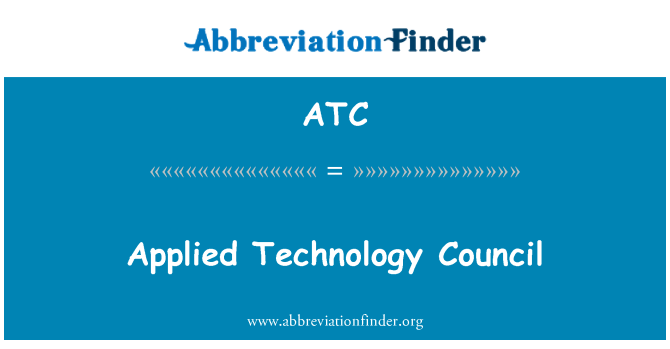 ATC: Applied Technology Council