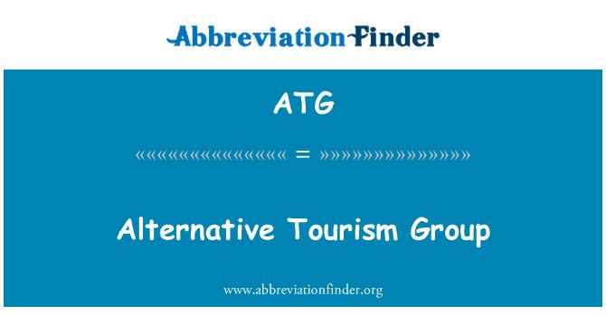 ATG: Alternative Tourism Group