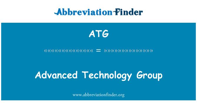 ATG: Advanced Technology Group