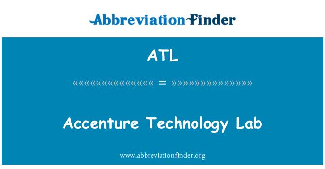 ATL: Accenture Technology Lab