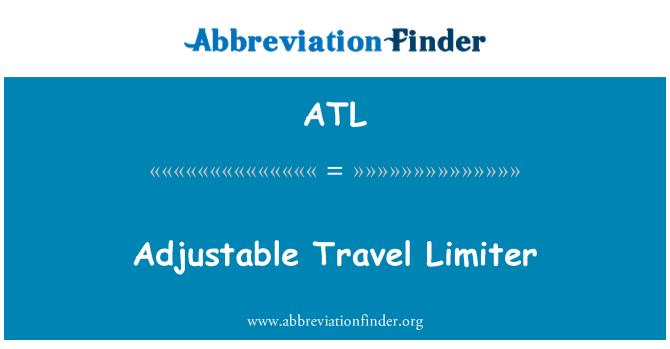 ATL: Adjustable Travel Limiter