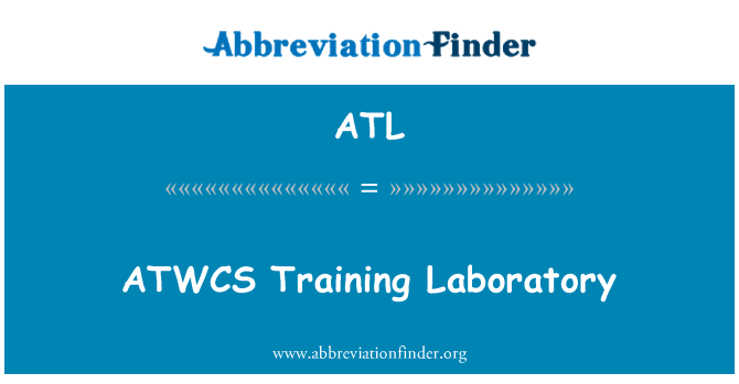 ATL: ATWCS Training Laboratory