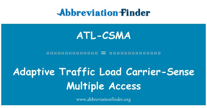 ATL-CSMA: Adaptive Traffic Load Carrier-Sense Multiple Access
