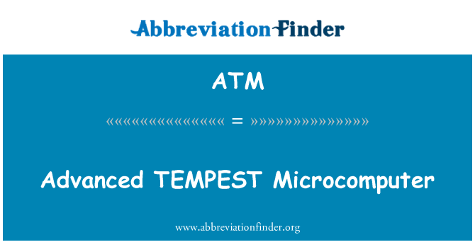 ATM: Advanced TEMPEST Microcomputer