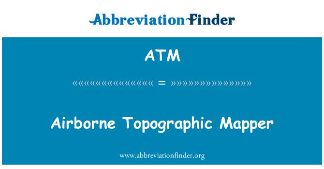 ATM: Airborne Topographic Mapper
