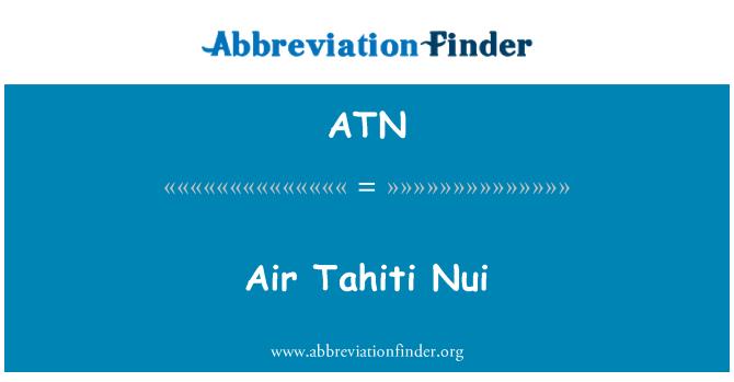 ATN: Air Tahiti Nui