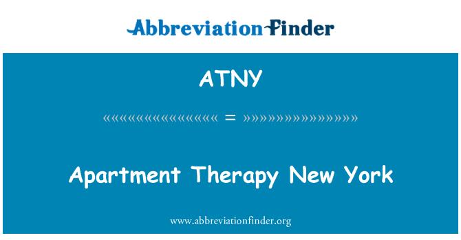 ATNY: Çift terapisi New York