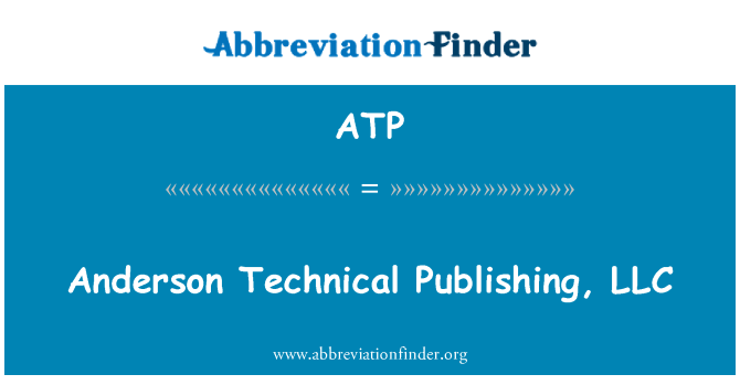 ATP: Anderson Technical Publishing, LLC