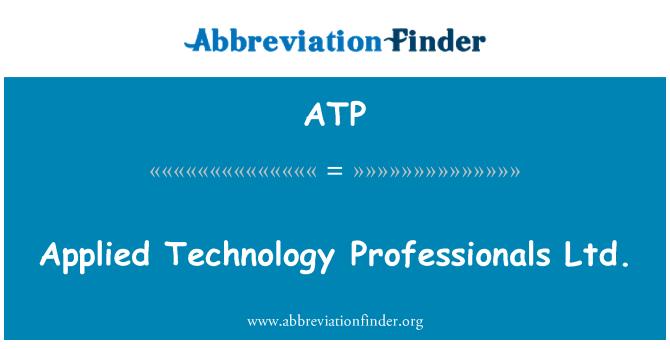 ATP: Applied Technology Professionals Ltd.