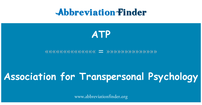 ATP: Association for Transpersonal Psychology