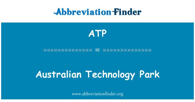 ATP: Australian Technology Park