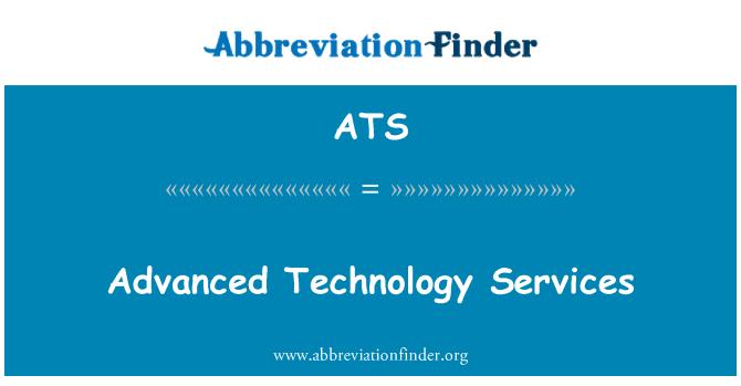 ATS: Advanced Technology & Services