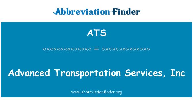 ATS: Advanced Transportation Services, Inc