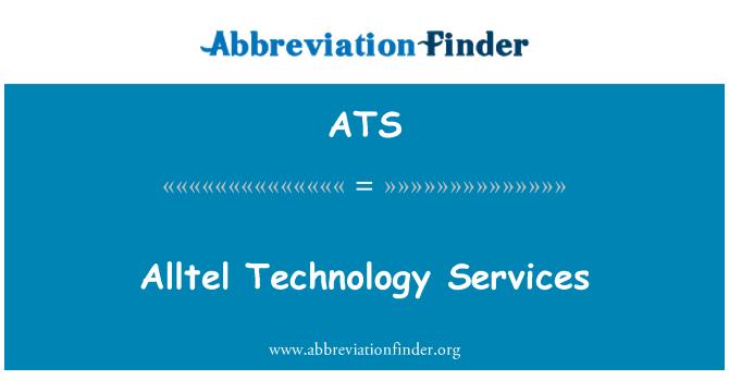 ATS: Alltel Technology Services
