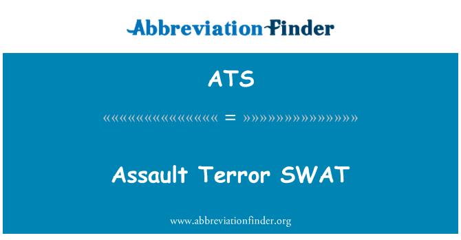 ATS: Assault Terror SWAT