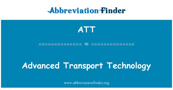 ATT: Perspektiivsete tehnoloogia