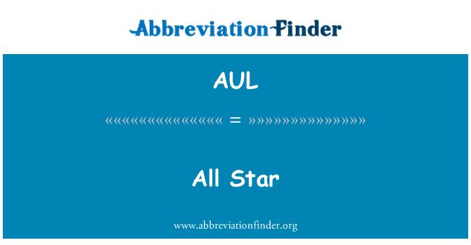 AUL: Semua bintang