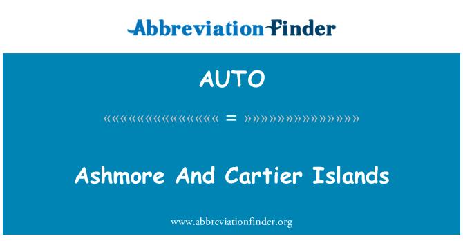 AUTO: 阿什莫尔和卡捷岛