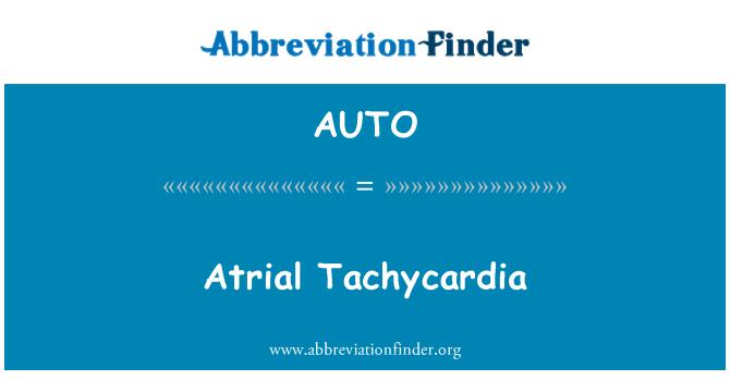 AUTO: Tachycardia Atrium
